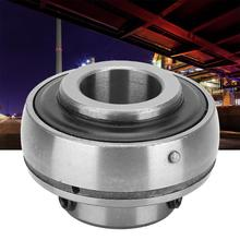2Pcs Ball Bearing Steel Insert Bearing Shaft Support 17x47x31mm/0.67x1.85x1.22in for Variety of Machinery 37000jd200 center bearing support for nissan