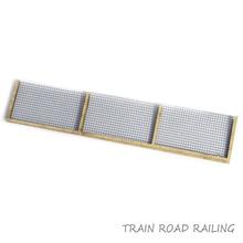 HO 1/87 Scale Train Model Building Scenery Sand Railroad Railing Fence Guardrail for Diorama Architecture Railway Scene