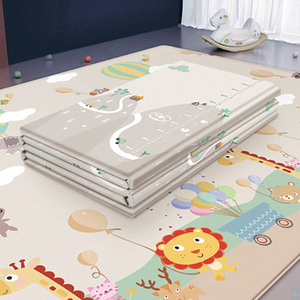 Image 3 - Baby Folding Puzzle Mat Play Mat Extra Large Foam Double Sides Playmat Crawl Pad Reversible Waterproof Portable Kids Rug