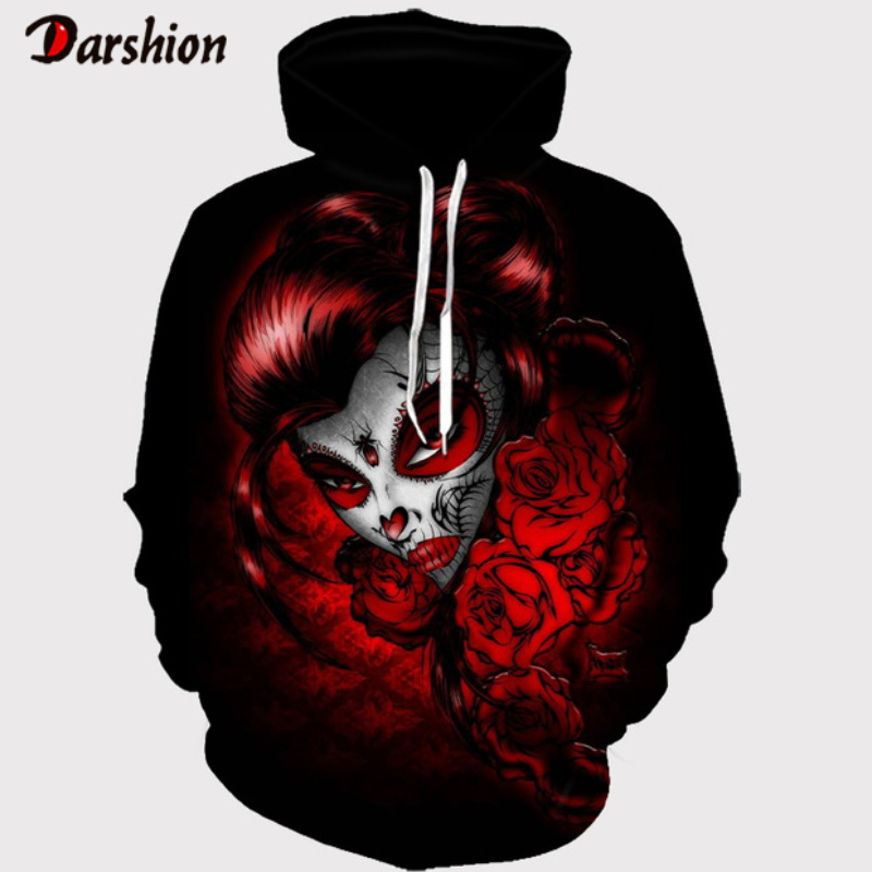 3D Personality Hoodies Fashion Men Hoodie Sweatshirt Funny Plus Size XXS-4XL Sweatshirt Hoodie For Fashion Man Pullover Dropship