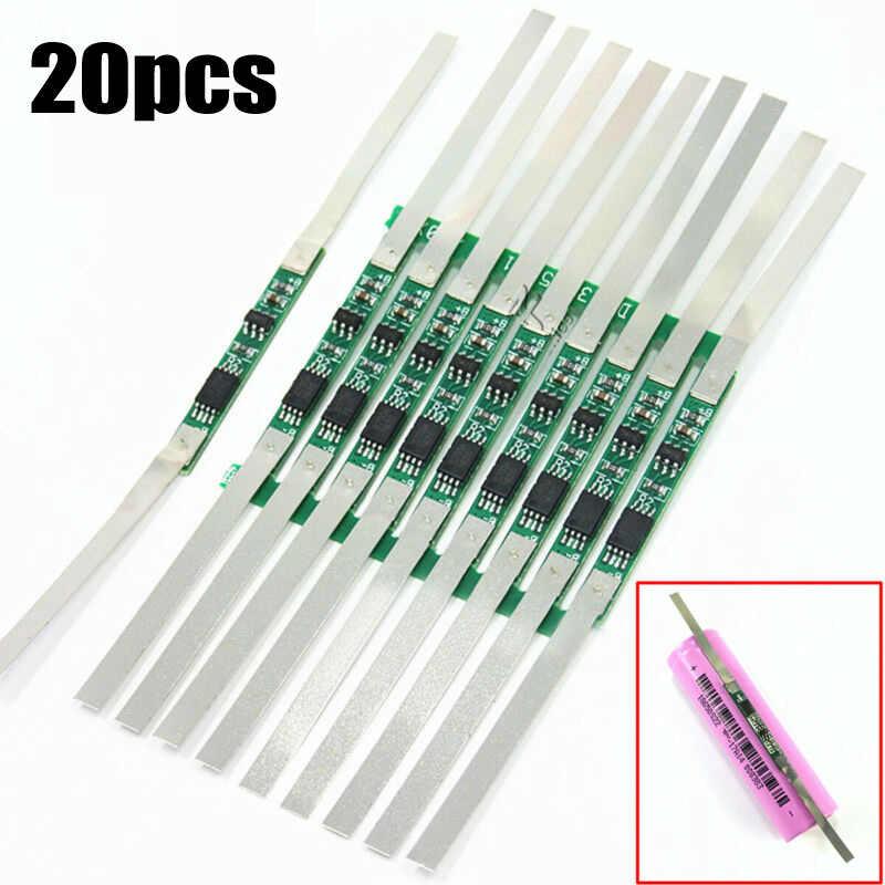 10/20/50/100 個 3A BMS 保護基板 1S 3.7V 18650 リチウムイオンリチウム充電池新発売し高品質