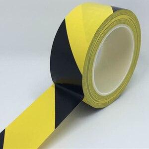 Image 3 - 33M Forte pvc di Sicurezza di Avvertimento Nastro Adesivo Nero Giallo impermeabile Autoadesiva Trazione Nastro di Marcatura per il Magazzino Della Fabbrica Posto di Lavoro