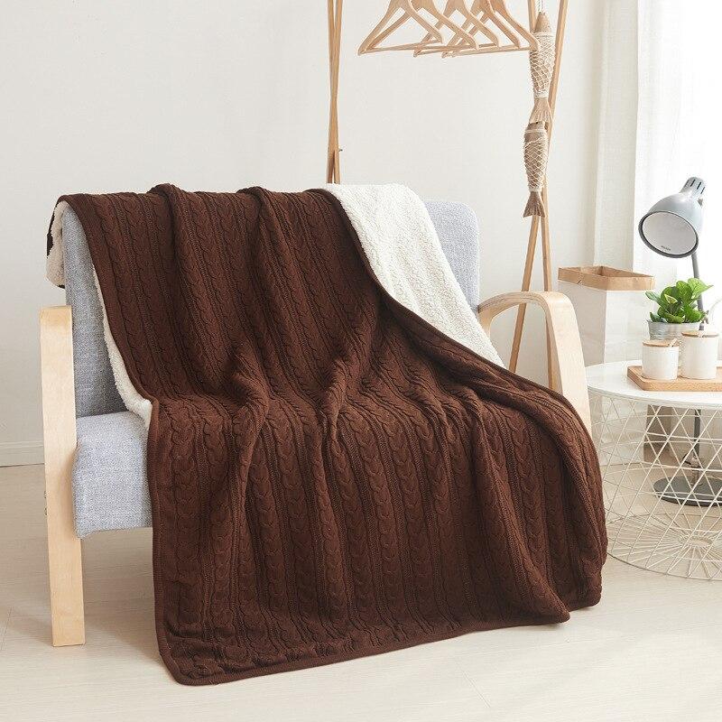 Весенне осеннее одеяло, кондиционер, одеяло, одеяла для кровати, меховое одеяло, вязаное одеяло, зимнее одеяло - 3