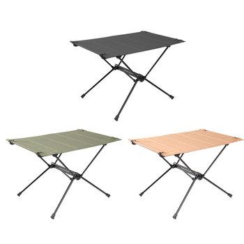Składany stół kempingowy-aluminiowy lekki stół składany kompaktowy stół do zwijania składany stół do wędkowania piknik BBQ tanie i dobre opinie alloet CN (pochodzenie) aluminum alloy + 1680D Oxford cloth Nowoczesny chiński samodzielnie Plac Stół ogrodowy meble zewnętrzne