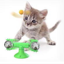 Pet собака кошка игрушка ветряная мельница зубная щетка с кошачьей