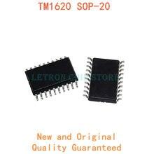 10 pièces TM1620 SOP-20 SOP20 7.2MM SOIC-20 SOIC20 SMD nouveau et original jeu de puces IC