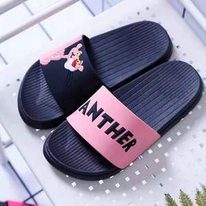 Summer Slides Cartoon Women Slippers Cute Home Slippers Slip on Slide beach Women Shoes Comfortable Flip Flops 277
