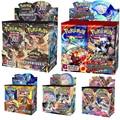 324 шт. Pokemon card TCG: солнце и луна единого умов коллекционная карточная игра в коробку уложено 36 Коллекция сумок
