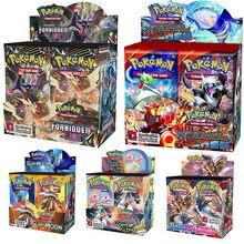 324 pces cartão pokemon tcg: sun & moon unified minds jogo de cartas de negociação uma caixa de 36 sacos coleção