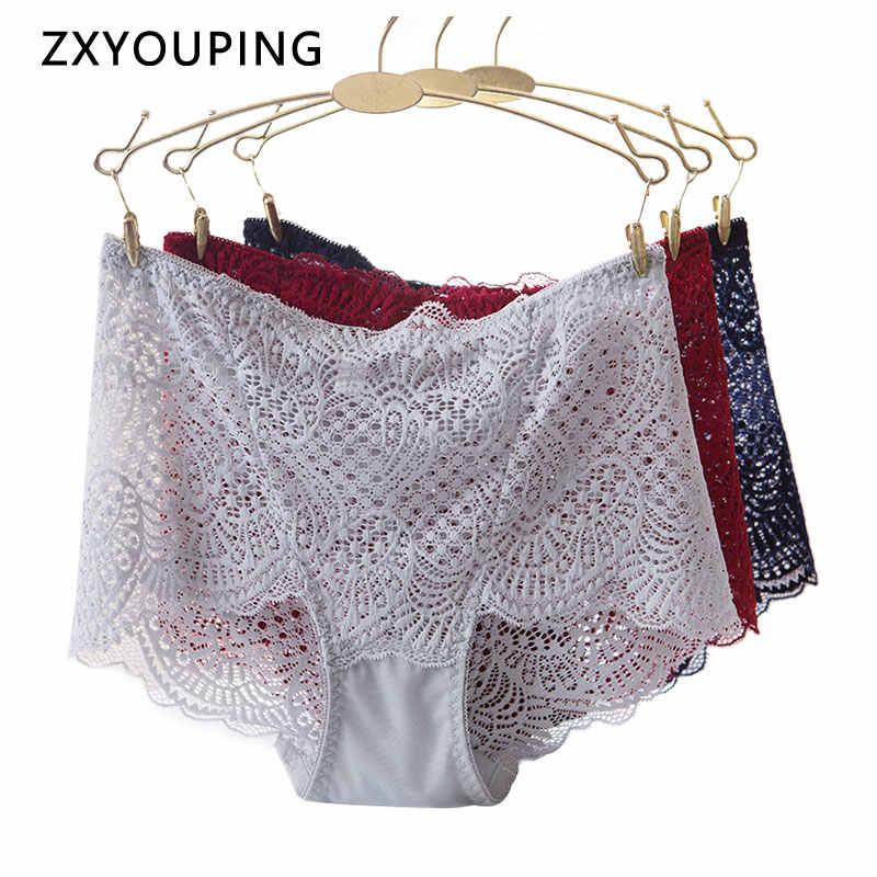 SexyPanties Briefs Underwear Underpant Intimates Charming Transparent Mesh Women
