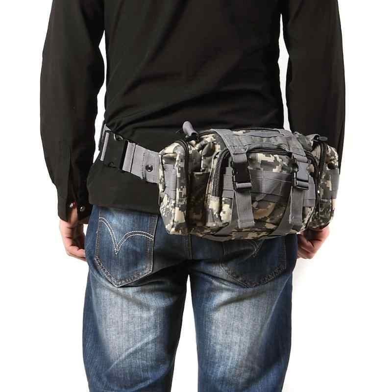 3L Sacchetti di Arrampicata All'aperto Impermeabile Sacchetto Della Vita Militare Tattico Oxford Molle Campeggio Trekking Pacchetto Marsupi