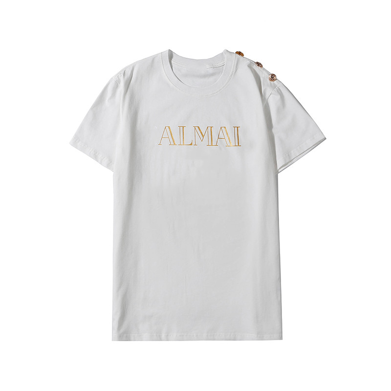 Classic Fashion Summer Loose Short Sleeve Pullover T-Shirt Top