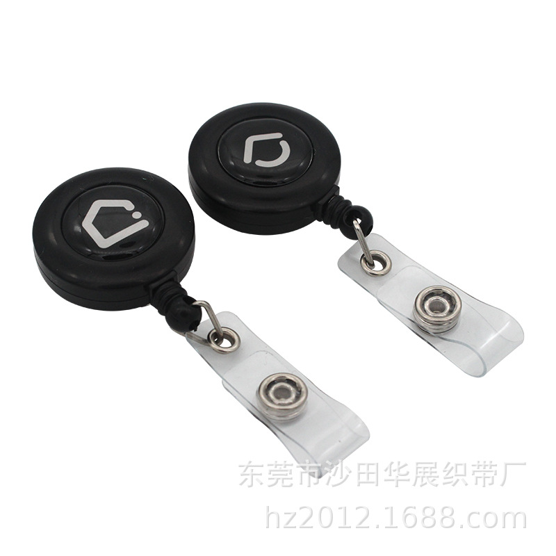 Abs Plastic Can Buckle Epoxy Smiley Plastic Hanger Abs Plastic Retractable Key Ring