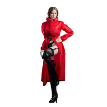 1/6 female clothes accessories model red windbreaker jacket suitable for 12 inch Action figure element body spot