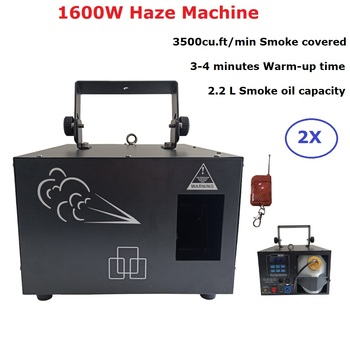 1600W Haze Machine Stage Smoke Machine Professional 1600W Fogger For Wedding Home Party Light Music Dj Equipment Laser Projector