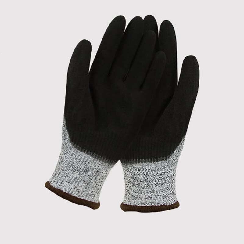 Nylon Comfortable Gray Non-slip Wear-resistant Protective Gloves