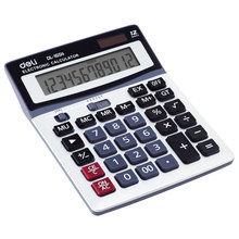 1654 Calculator Big Screen Big Button Solar Calculator Financial Office 12-Digit Calculator