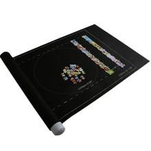 1pc 500/1000/1500/2000 pçs acessórios de quebra-cabeça saco de armazenamento de viagem portátil quebra-cabeças esteira de rolo de quebra-cabeça esteira de jogo puzzles cobertor