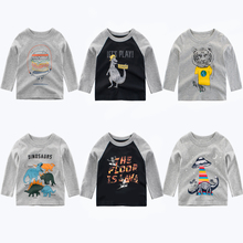 Boys T Shirt 2019 New Summer Girls Tops Tee Cotton Toddler Children T-Shirt For Boys Long Sleeve Baby Girls Clothes Kids Tshirt 1 12y unisex kids t shirt masters of the universe he man tshirt for children fashion t shirt boys girls clothes summer tops tees