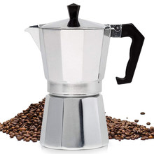 Coffeeware Aluminum Coffee Maker Durable Moka Cafeteira Expresso Percolator Practical Moka Coffee Pot 50/100/150ml Coffeeware