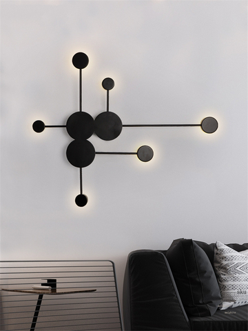 nordic simples lampada de parede moderna sala