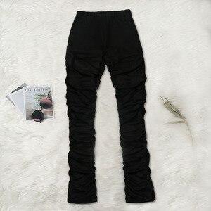 Сексуальный женский комплект из двух предметов, однотонный укороченный топ + длинные штаны, плиссированные, тонкие, вечерние, для ночного бега, Femme, летняя одежда для женщин