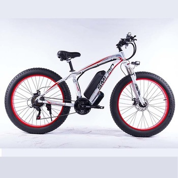 XDC600-8 2020 Upgraded MTB 800w/1000w 26'' Electric Bicycle FAT TIRE  48V 17.5 AH S^MSUNG Battery for Adults 2