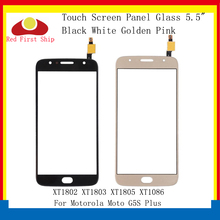 цена на 10Pcs/lot Touch Screen For Motorola Moto G5S Plus XT1802 XT1803 XT1805 XT1086 Touch Panel Digitizer Sensor Front LCD Glass Lens