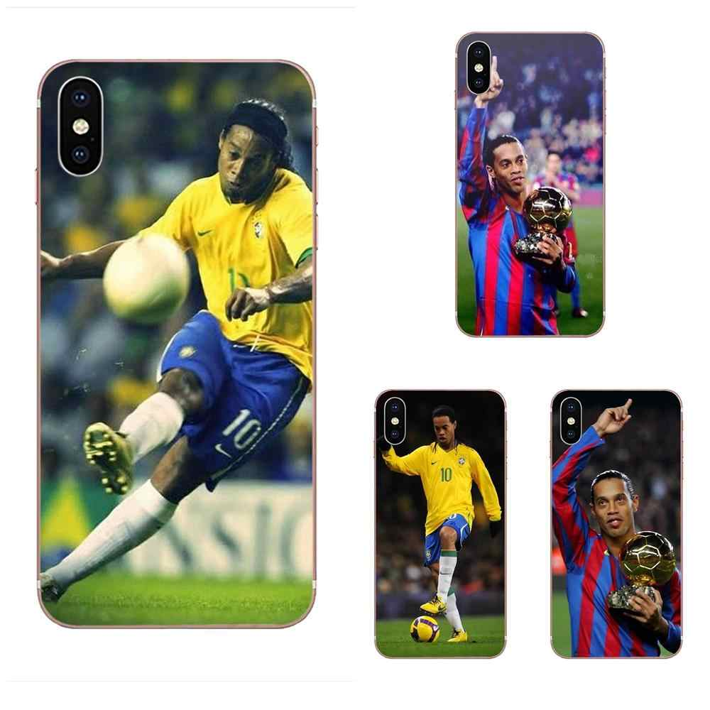 Cartoon Pattern Phone Case For Samsung Galaxy Note 5 8 9 S3 S4 S5 S6 S7 S8 S9 S10 5G mini Edge Plus Lite Legend Ronaldinho