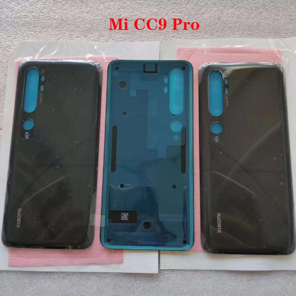 For Xiaomi Mi CC9 Pro M1910F4E Original New Back Battery Cover Glass Housing