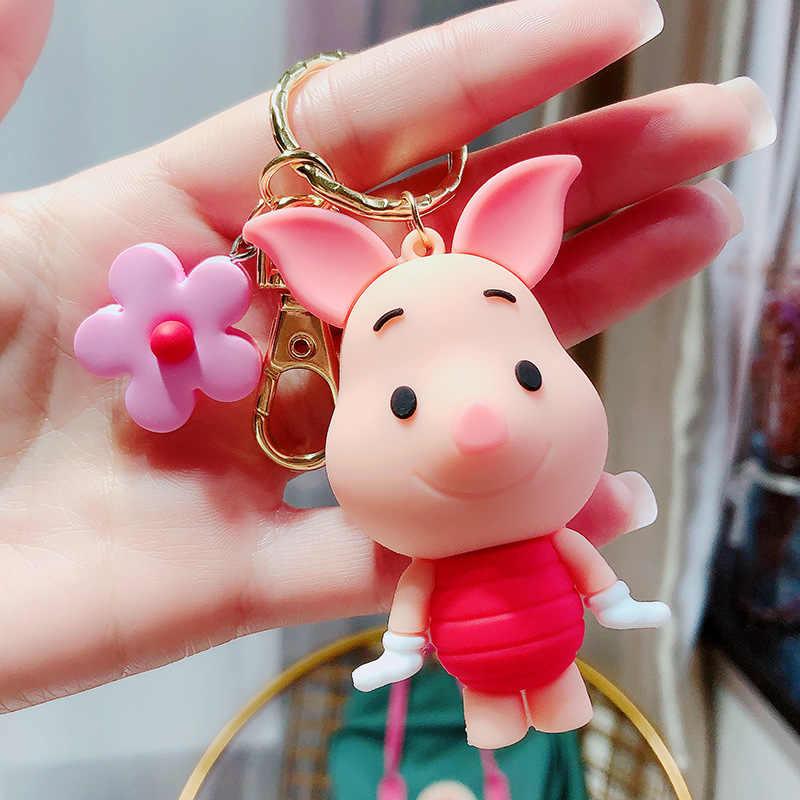 Muñeca infantil de Disney, colgante de Mickey mouse Donald, llavero con forma de pato, colgante de bolsa de regalo pequeña, llavero, colgante, recuerdos de evento