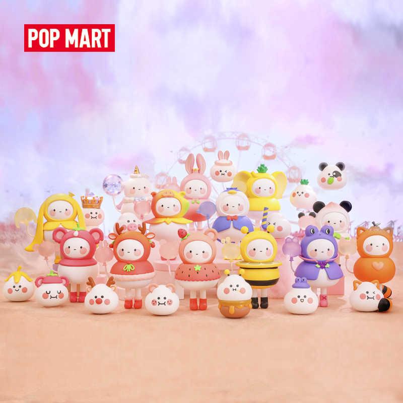 POP MART BOBO COCO 풍선 랜드 완구 피규어 블라인드 박스 액션 피규어 생일 선물 아이 장난감 무료 배송