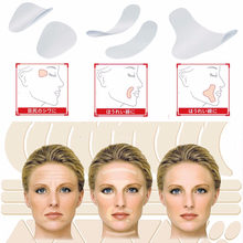 Anti Wrinkle Patch Face Lift Tape Face Skin Care Tool V Line Shape Sticker Thin Face Sagging Frown Smile Lines Forehead Creases(China)