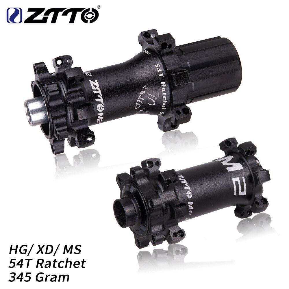 ZTTO M2 MTB ультралегкий концентратор, 28 отверстий, 54T, трещотка HG XD, Micro spline Core, 12 Скоростей, через ось, QR 28 h, велосипедный концентратор