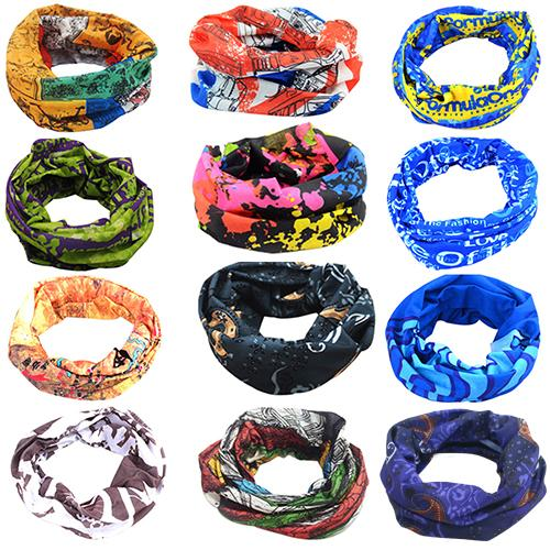 Bandanas Fashion Motorcycle Cycling Tube Scarf Headband Women Men Multicolor Magic Head Face Mask Neck Gaiter Snood Headwear