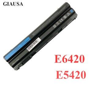 New Best 11.1V 5200mAh Laptop Battery T54FJ M5Y0X N3X1D P9TJ0 For Dell Latitude E6420 E6520 E5520 E5420 E6430 E6530 NHXVW P8TC7