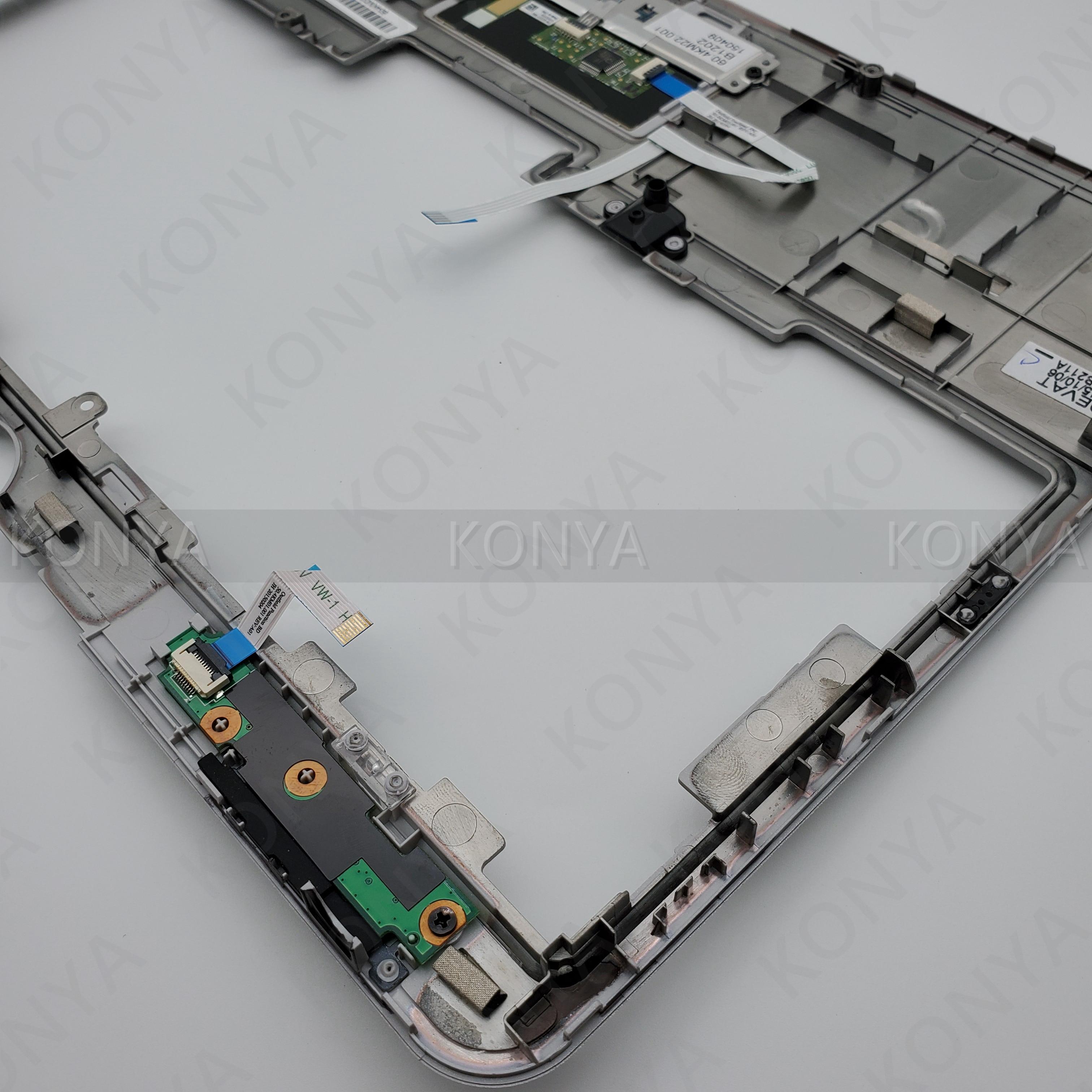 New Original For HP EliteBook 2760P Palmrest Touchpad 649768-001