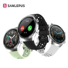 2021 SANLEPUS QS8 nowy inteligentny zegarek z wybierania połączeń mężczyźni kobiety wodoodporna bransoletka Fitness Smartwatch dla androida Huawei Apple