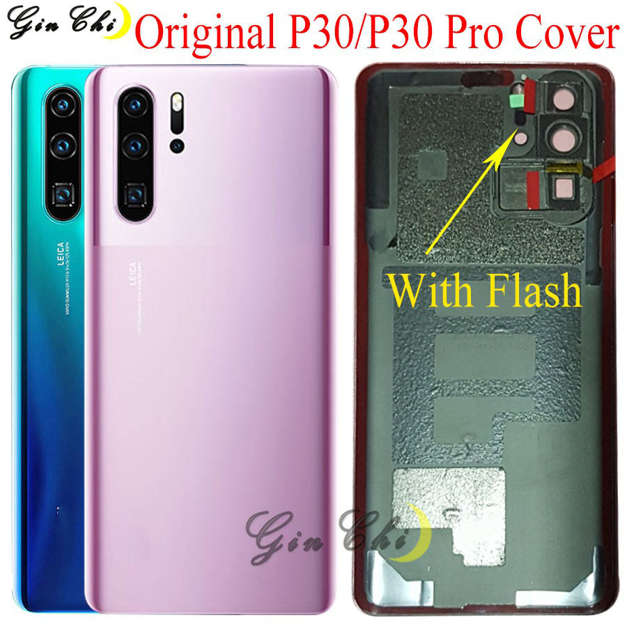 Original For Huawei P30 Pro Battery Cover Door For Huawei P30 Back Battery Cover Door Replacement Parts P30Pro Back Cover  Came