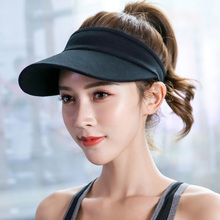 Summer new unisex fashion running hat outdoor sports baseball visor solid color breathable and quick-drying