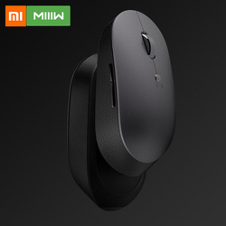 Xiaomi Mijia MIIIW Wireless Bluetooth Mouse Mice Keyboard S500 Mice Dual Mode Portable Office Gaming Homeuse Mouse For PC Laptop