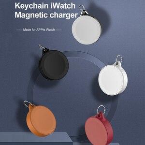 Image 5 - נייד מפתח טבעת שעון אלחוטי מטען USB כבלים עבור אפל iWatch סדרת 5 4 3 2 1 2W אלחוטי טעינה מהירה עבור iWatch 5 4 3