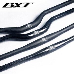 Image 4 - מותג BXT סיבי פחמן אופניים כידון מאט/מבריק הרי אופני פחמן כידון 600mm   720mm mtb אופניים חלקי