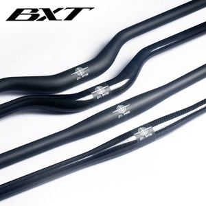 Image 4 - ブランドbxt炭素繊維自転車ハンドルバーマット/光沢のあるマウンテンバイクカーボンハンドルバー600ミリメートル 720ミリメートルmtb自転車部品