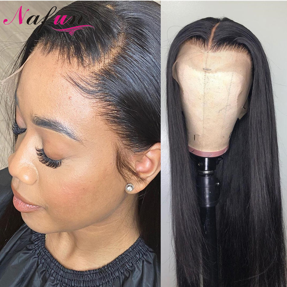 Full Lace Wig 13x4/13x6 Lace Frontal Human Hair Wigs Peruvian Straight Lace Front Wigs For Women Remy Hair Transparent Lace Wigs