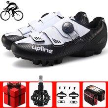цена Men cycling shoes mtb men sneakers women mountain bike shoes racing bicycle professional self-locking breathable riding shoes онлайн в 2017 году