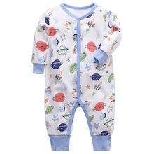 Одежда для маленьких мальчиков комбинезон новорожденных девочек
