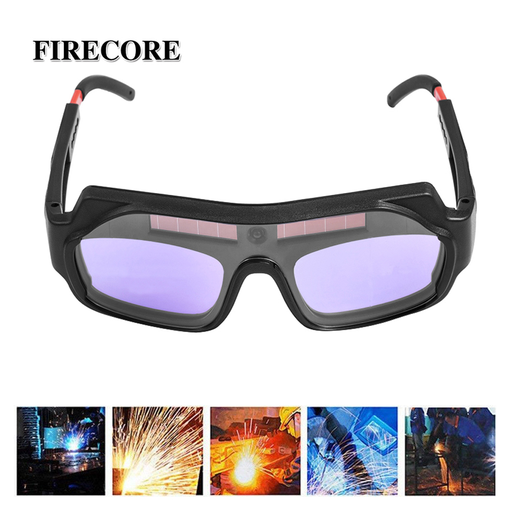 Welding Protective Glasses Automatic Dimming Solar  Welder Protective Eyepiece