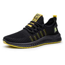 Men Shoes Fashion Breathable Mesh Rubber Sole Lace Up Flat Casual Shoes Soft Tenis Travel Walking Shoes Footwear Zapatos Hombre zanvllchy men shoes 2018 summer soft breathable men casual shoes lace up high quality couple flat mesh ultra boost tenis shoes