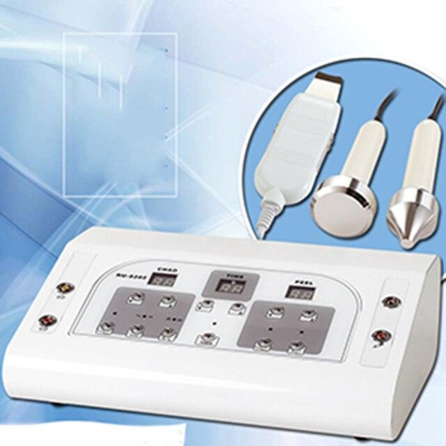 Máquina profesional/ultrasonido limpieza de la piel/instrumento de terapia de Biología